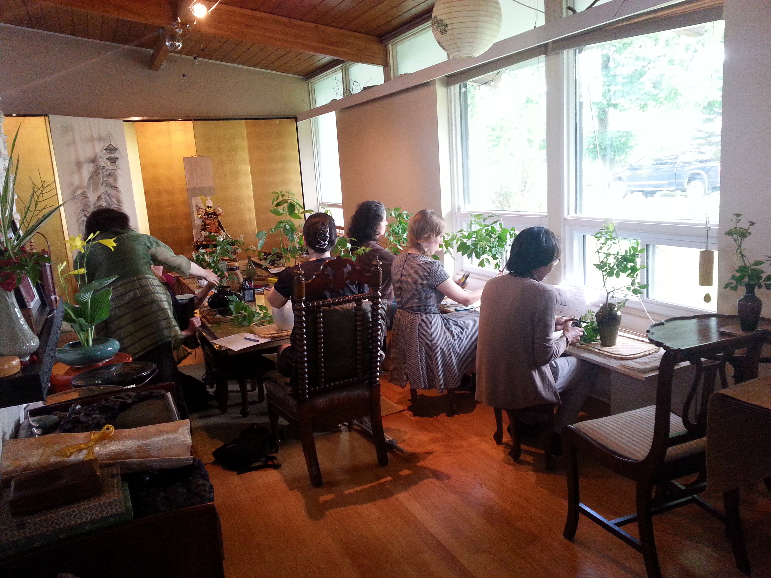 Ikebana Classes at Camellia House